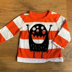 BabyGap Little Monster Striped Top